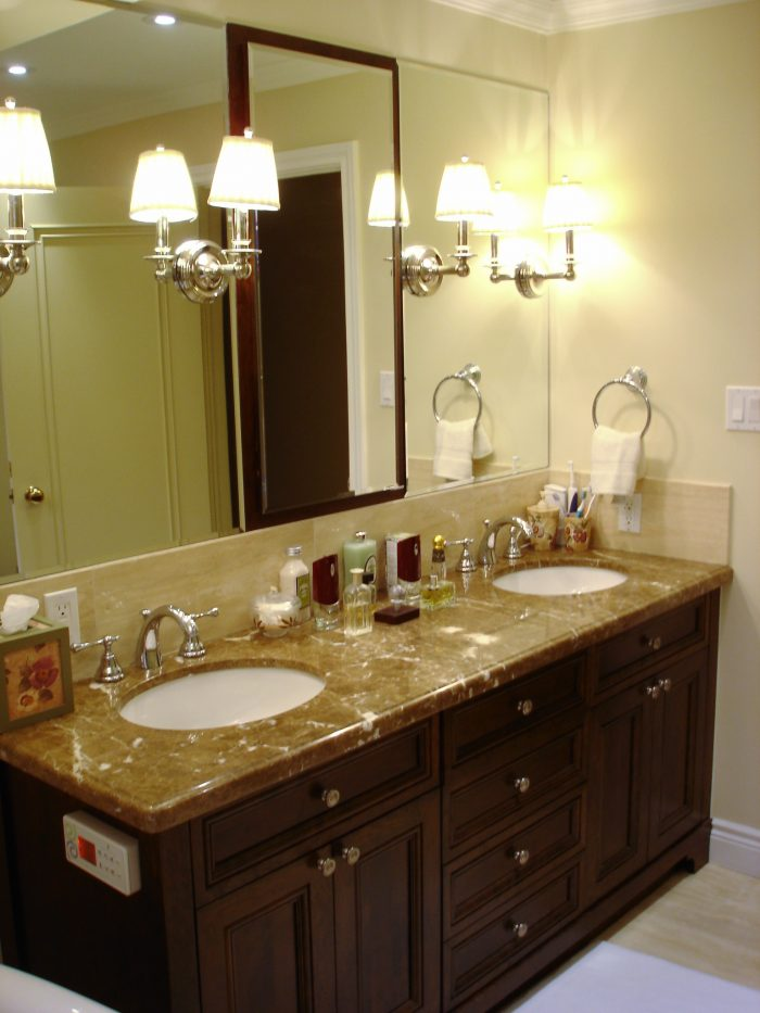 Bathroom Renovation Double Vanity's2